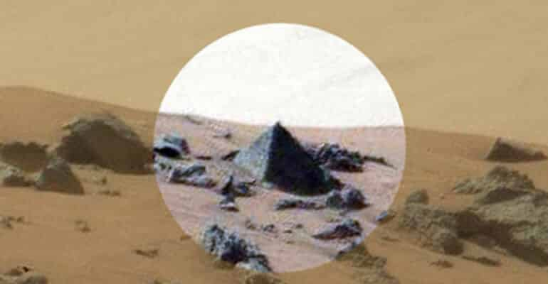 NASA Pyramid on Mars