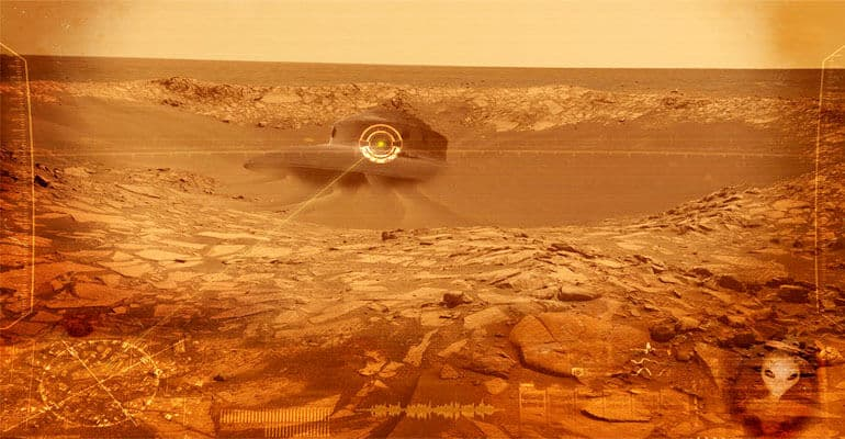 ufo crash on mars 3