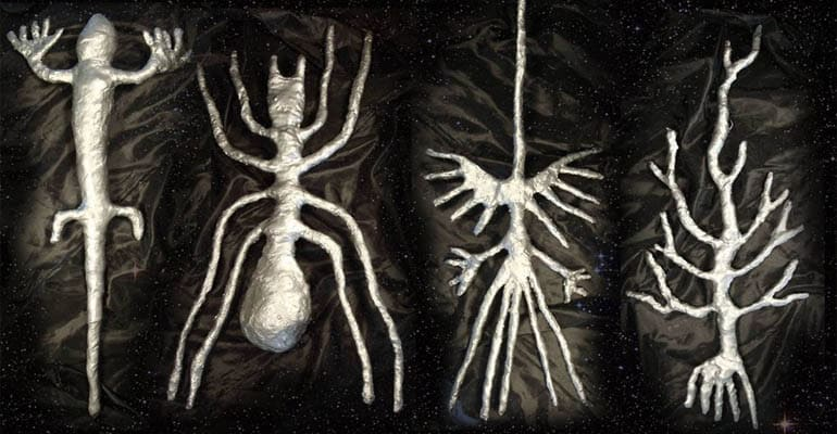 Peru Nazca Alien Forms