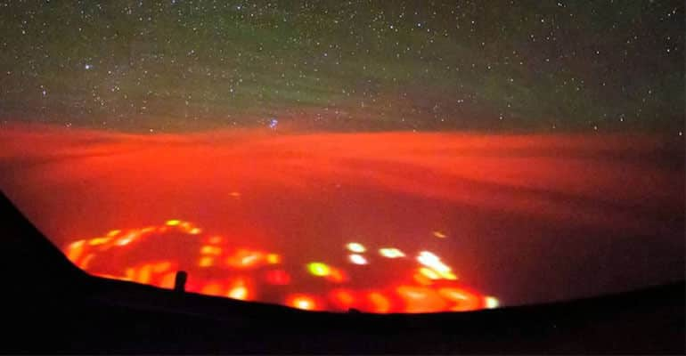 red lights over pacific ocean 4