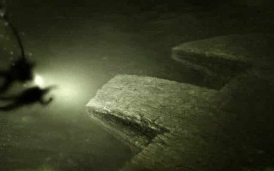 underwater ufo discovered by two divers