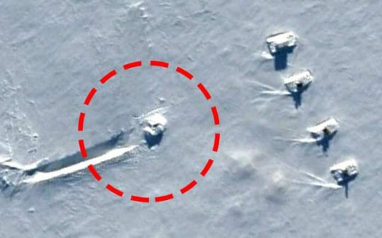 ufo crash guarded by tanks 2