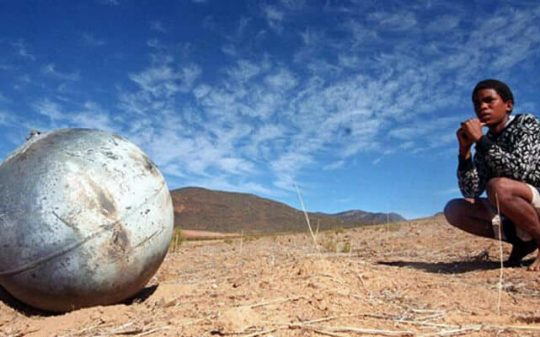 metal sphere in africa
