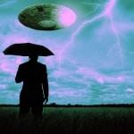 ufo in lighting storm 5