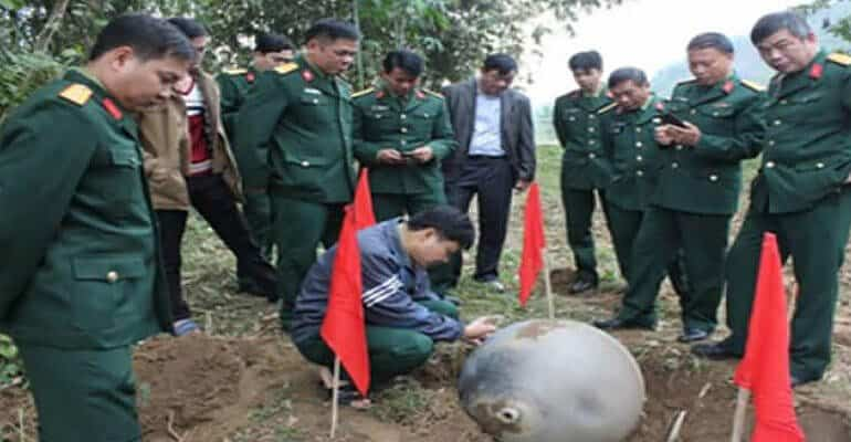 Metallic Orb Devices Fall From the Sky in Vietnam, Ministry of Defence Takes Over