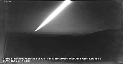 brown-mountain-lights-first-photo