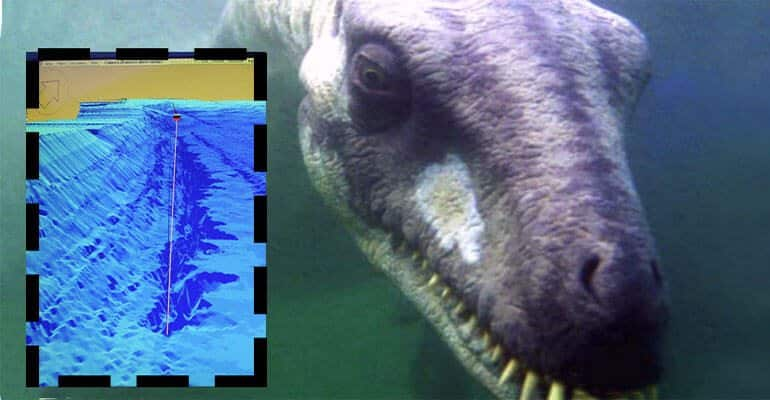 """EXCLUSIVE: Nessie's underwater hideaway may have been found in her Highland home of Loch Ness by a former fisherman who has sonically mapped the depths of the world's seas. But his exciting discovery may also raise questions about how deep world famous Loch Ness really is. Britain's deepest loch is Loch Morar, allegedly home to another elusive 'water kelpie' Morag at 1017 feet. Previously, the UK's second largest loch, Loch Ness, was measured at 813 feet deep. But 43 year old tourist sightseeing vessel skipper Keith Stewart has found a crevice about nine miles east of Inverness and he has measured it with state of the art sonar equipment at 889 feet. His colleagues in Jacobite Cruises, which operates sight seeing cruises down Loch Ness from Inverness, have now christened it 'Keith's Abyss' and whetted his appetite to look for more mysteries the huge water expanse may harbour. He said yesterday: """"I wasn't really a believer of the monster beforehand. But two weeks ago, I got a sonar image of what looked like a long object with a hump lying at the bottom. It wasn't there when I scanned the loch bed later. """"That intrigued me and then I found this dark shape about half way between the Clansman Hotel and Drumnadrochit which transpired to be a crevice or trench. I measured it with our state of the art 3d equipment at 889 feet, which is 77 feet deeper than the previous recorded deepest point called Edwards' Deep. Ref: SPL1206895 190116 EXCLUSIVE Picture by: Peter Jolly / Splash News Splash News and Pictures Los Angeles: 310-821-2666 New York: 212-619-2666 London: 870-934-2666 photodesk@splashnews.com"""