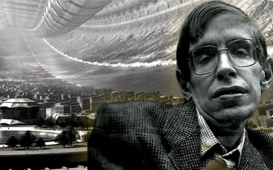 stephen hawking space colonies
