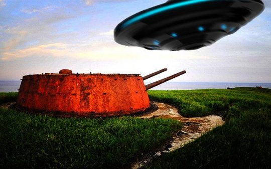 Leaked Footage of UFO Flying Extremely Close to a Russian Military Base has Just Surfaced