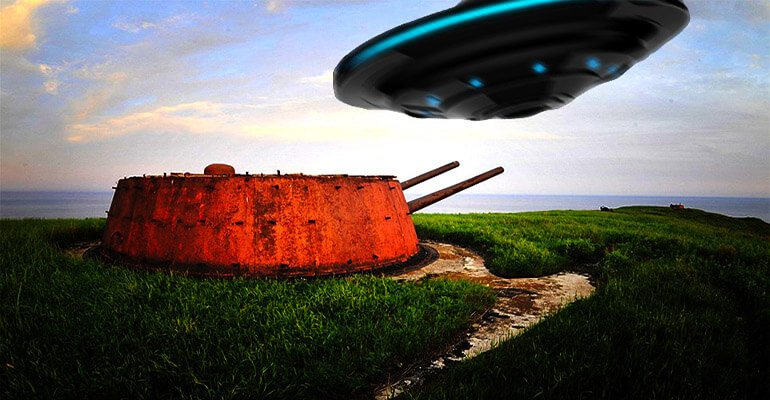 ufo near military base
