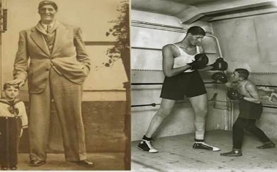 The Tallest Boxer in History, Descendant of an Ancient Race of Giants?