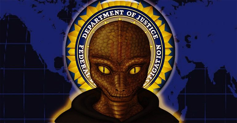 reptilian fbi sign