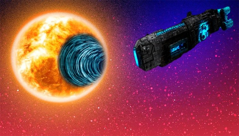 is nasa trying to test interstellar travel using a solar wormhole