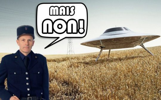 french town bans ufo