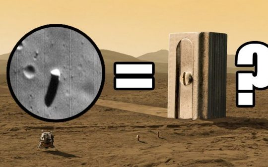 Who Put This Monolith on Mars' Moon Phobos?