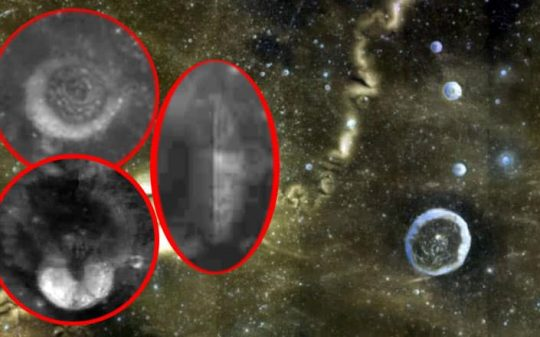 alien structures on the moon
