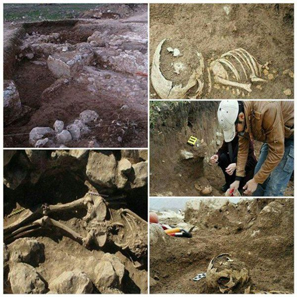 ancient giant skeleton iran