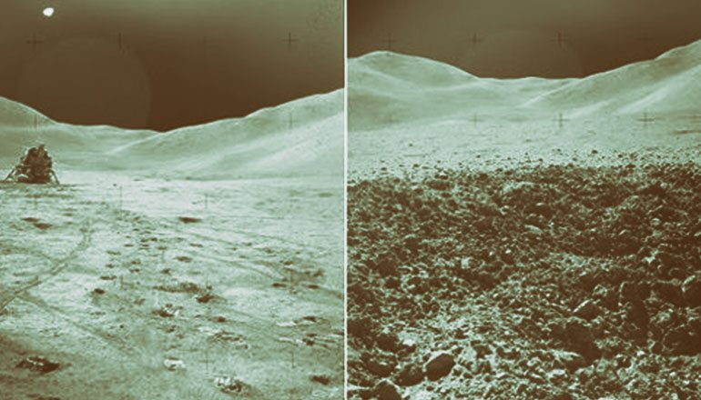 Are These Moon Photos Evidence The Apollo Landings Were Faked?
