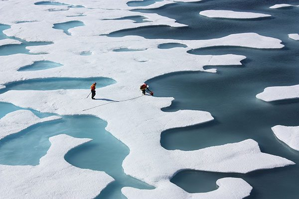 refreeze the arctic ice