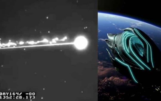 [VIRAL] Video Allegedly Shows Black Knight Satellite Destroyed By The Illuminati