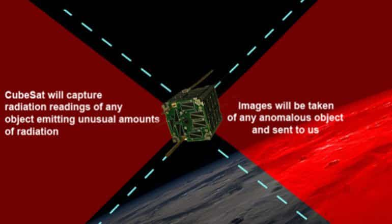 cubesat for disclosure ufo hunter