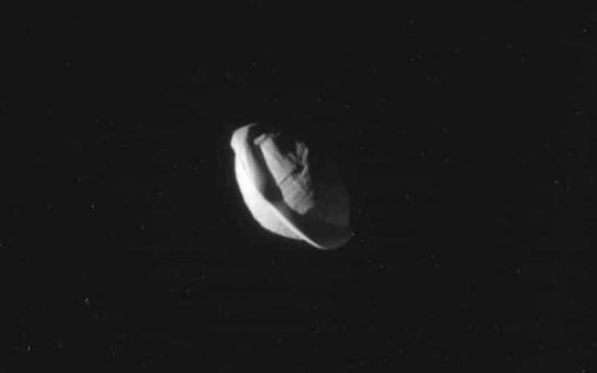 Scientists Have Just Learned Saturn's Moon Pan Looks Like A UFO!