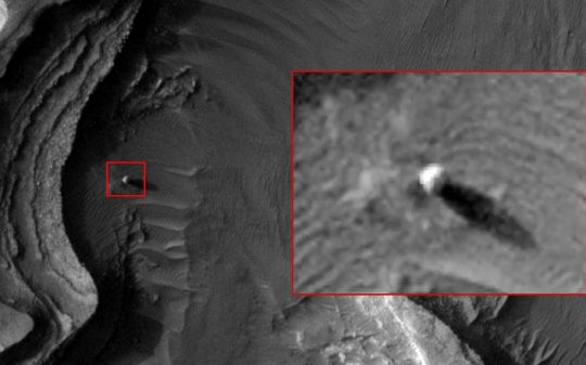 spherical structure on mars