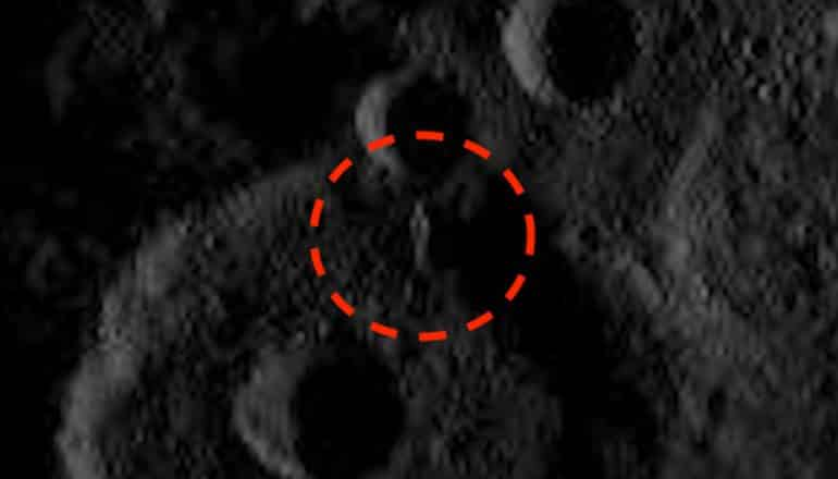 Enormous Tower On Ceres Spotted In Official NASA Images