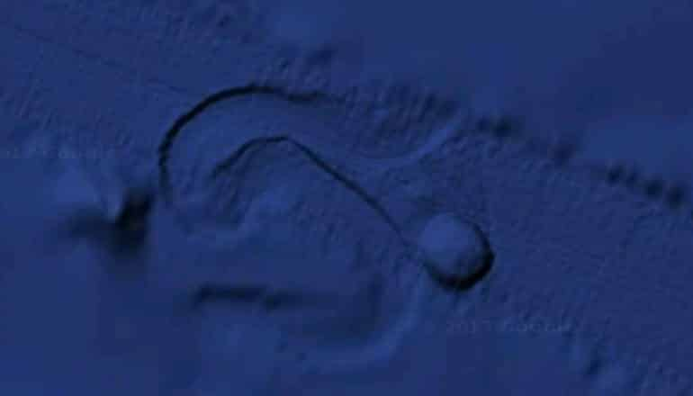 Giant Circular Object Moving On The Ocean Floor Detected By Satellite