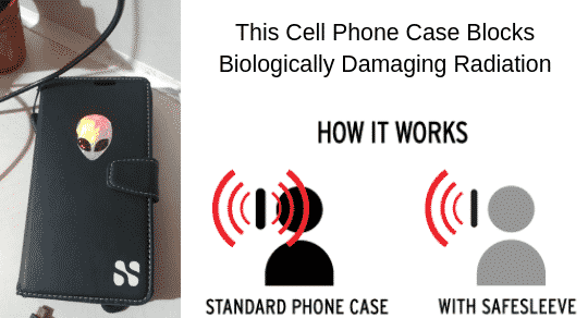 This Cell Phone Case Blocks Biologically Damaging Radiation