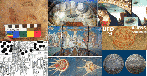 UFO's in 11 Historical Paintings Revealed
