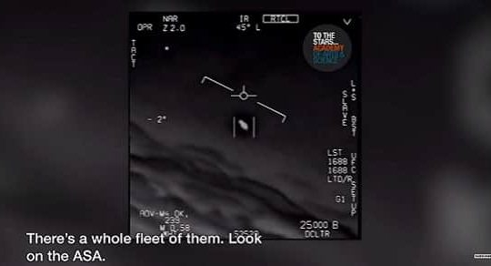 "'Look At It Fly!""—Navy Pilots Report Daily UFOs Over East Coast For A Year"