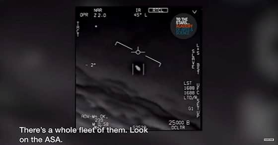 fleet of UFO US NAVY 2015 footage