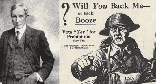 Alcohol Prohibition—Funded By Rockefeller to Eliminate Threat to the Oligarchy