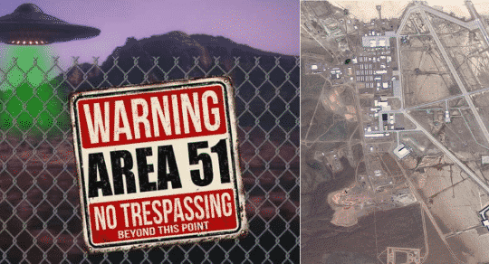 The Air Force and Bob Lazar Warn Against Storming Area 51
