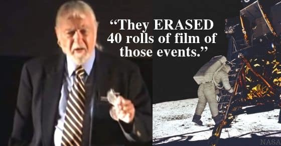 Apollo 11 Missing Tapes Had Evidence of Aliens, U.S. Army Whistleblower Claims