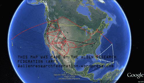 Secret military bases map