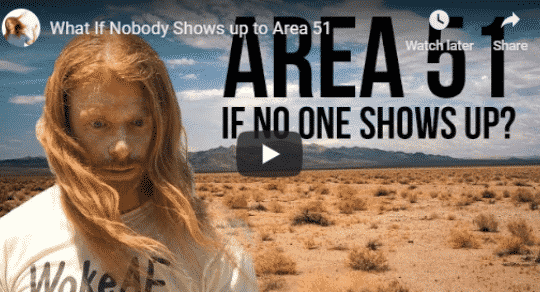 """Comedian JP Sears Releases """"What If Nobody Goes To Area 51"""" Video"""