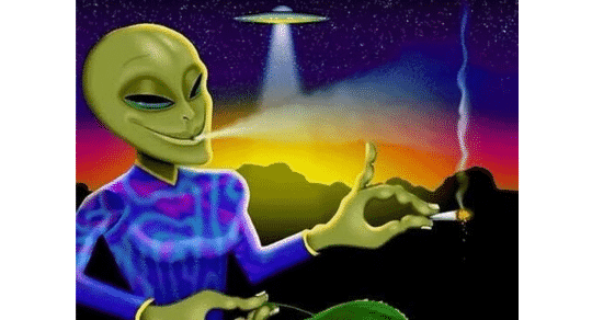 THC Found on Meteorite – Do Aliens Smoke Weed?
