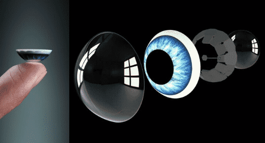 They Want Your Phone To Be a Contact Lens in Your Eye