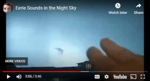 Eerie Sounds From UFO Haunt Fighter Jets Near Houston Texas