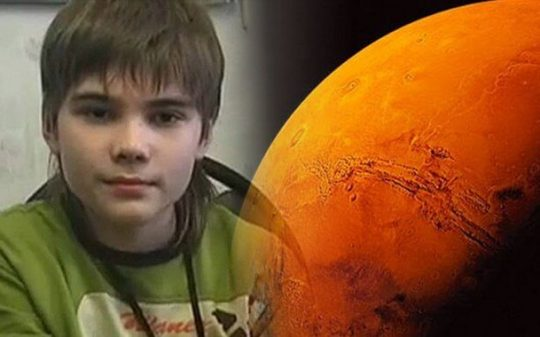 Life on Mars: A 7 Year Old Recounts His Past Life on Another Planet