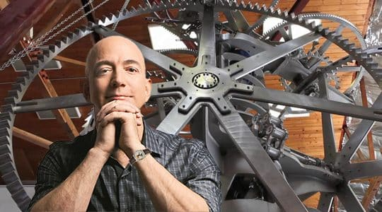 Why is Jeff Bezos Building a Giant 10,000-Year Clock in a Mountain Bunker in Texas?