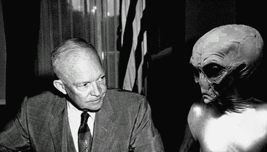 Eisenhower Met with Aliens at Air Force Base