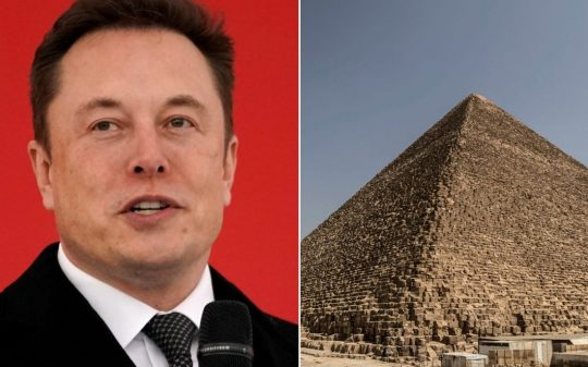 "Elon Musk Hints Egyptian Pyramids Were ""Obviously"" Built By Aliens"