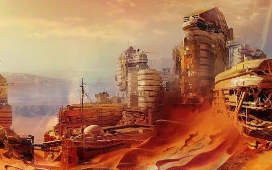 """City on Mars Found by UFOlogist, and NASA Named it """"Atlantis"""""""