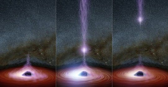 NASA Scientists Have Witnessed Something Come Out of a Black Hole For The First Time Ever