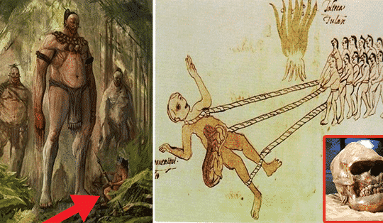 The Ancient White Giants Who Ruled North America Are Described By the Native Americans
