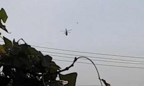 UFO Shoots Past Helicopter in Bangkok – Alien Hunter Says Aliens Are Monitoring Human Technology