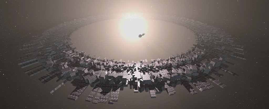 Megastructures Around Black Holes May Indicate Alien Civilizations Leading To Other Universes